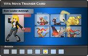 I.B.S Trainer Card - Ashleigh