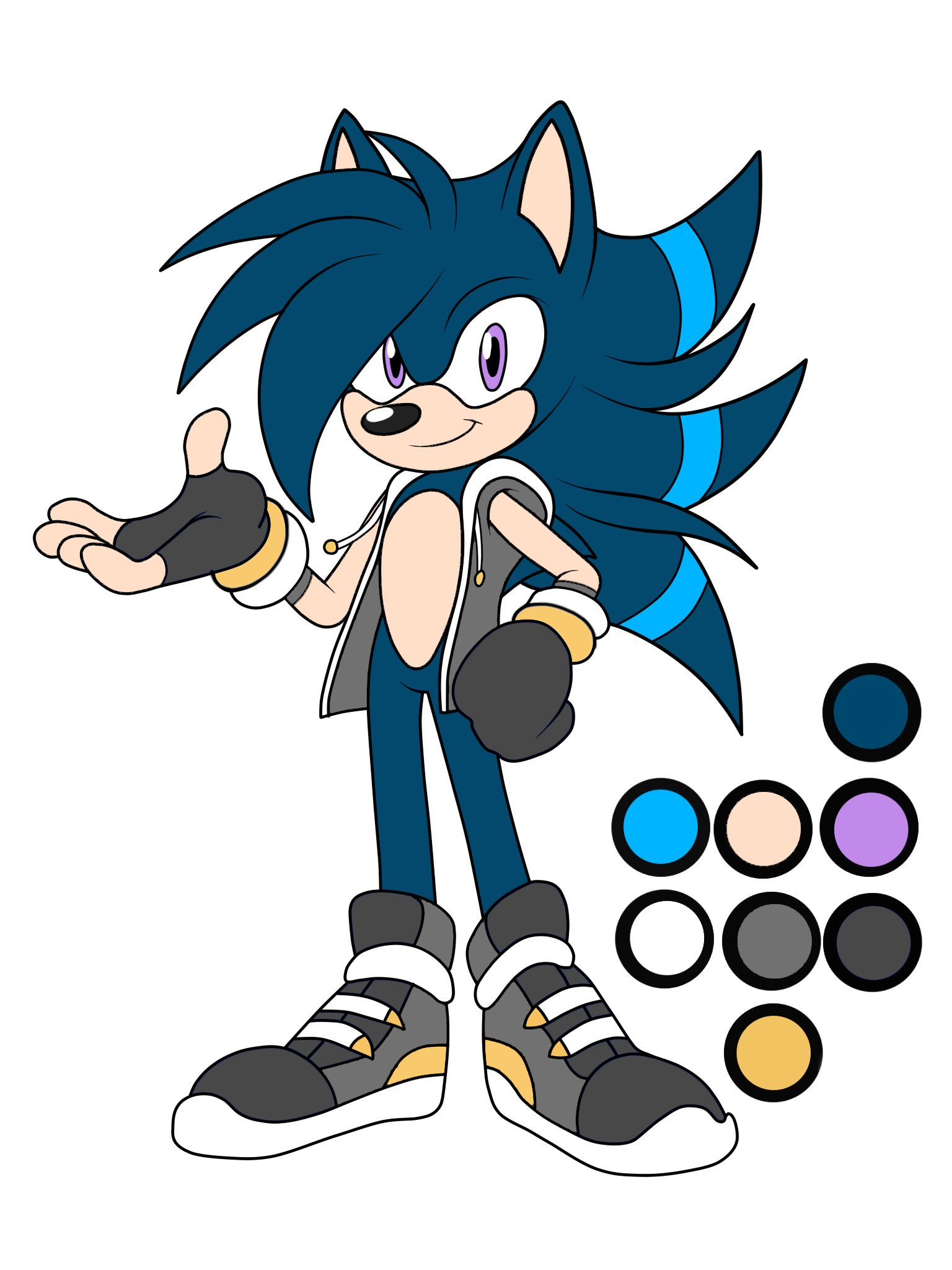 Kevin The Hedgehog Sonic Fan Characters Wiki Fandom