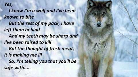 """I know I'm a Wolf"" Lyrics"