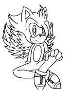 Rq kizu the angel ghost hedgehog by blackrose140792-d5fnlha
