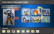 I.B.S Trainer Card - Jonic