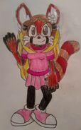 Gwen Red Panda