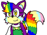 Niji the Rainbow Fox
