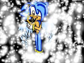 Commission kizu the angel ghost hedgehog by mairaxshadowl50-d4pojc2