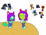 Cartoon comics bonus picture - Emily and Fionna's revenge
