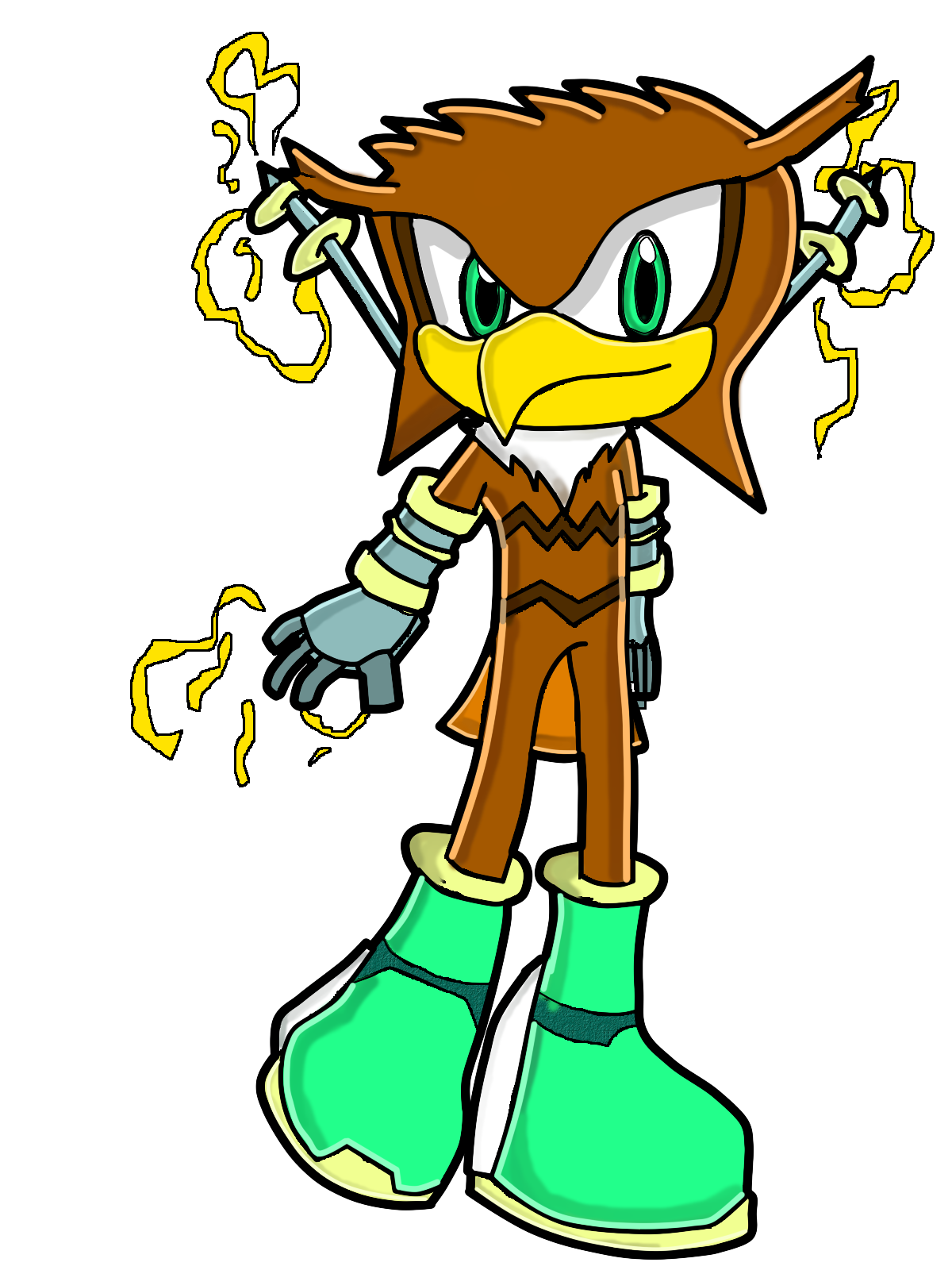 shunt the owl sonic fan characters wiki fandom powered by wikia  shunt s past desing from which the thunder 66 gets it s color