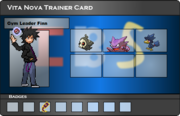 I.B.S Trainer Card - Finn