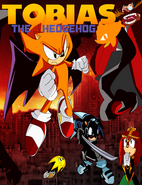 Tobias the hedgehog revelations cover with font