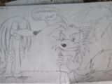 Knuckles and Tails Go to Echidnaopolis