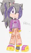 Alina the hedgehog by sonicis1hotwerehog-d40zr2v