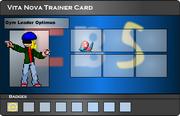 I.B.S Trainer Card - Optimus