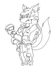 Wolf by SMSSkullLeader
