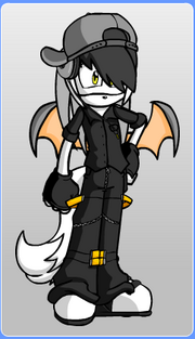 Mark the Bat, made using Furry Dollmaker
