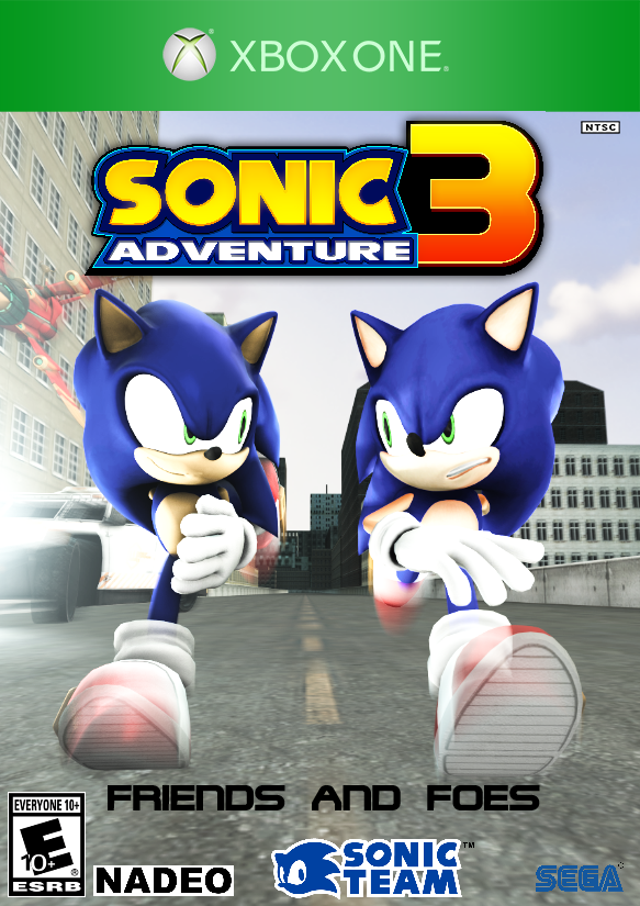 Sonic Adventure 3: Friends and Foes (video game) | Sonic Fan