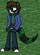 """Reece """"Kiza"""" Kelly the Crystalian Green Panda"""