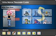 I.B.S Trainer Card - Clair
