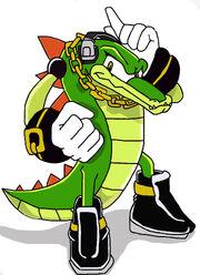Vector The Crocodile by QUAKER132