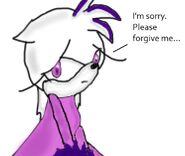 Vanilla is sorry
