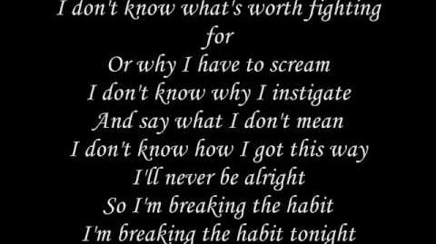 "Finni's Theme Song ""breaking the habit"""