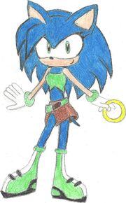 Sonic girl by charismathehedgehog-d39il1m