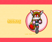 Kay sonic channel wallpaper