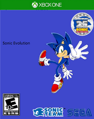 Sonic Evolution Xbox One Cover