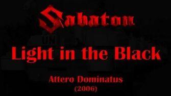 Sabaton - Light in the Black (Lyrics English & Deutsch)