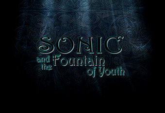 Sonic and the fountain