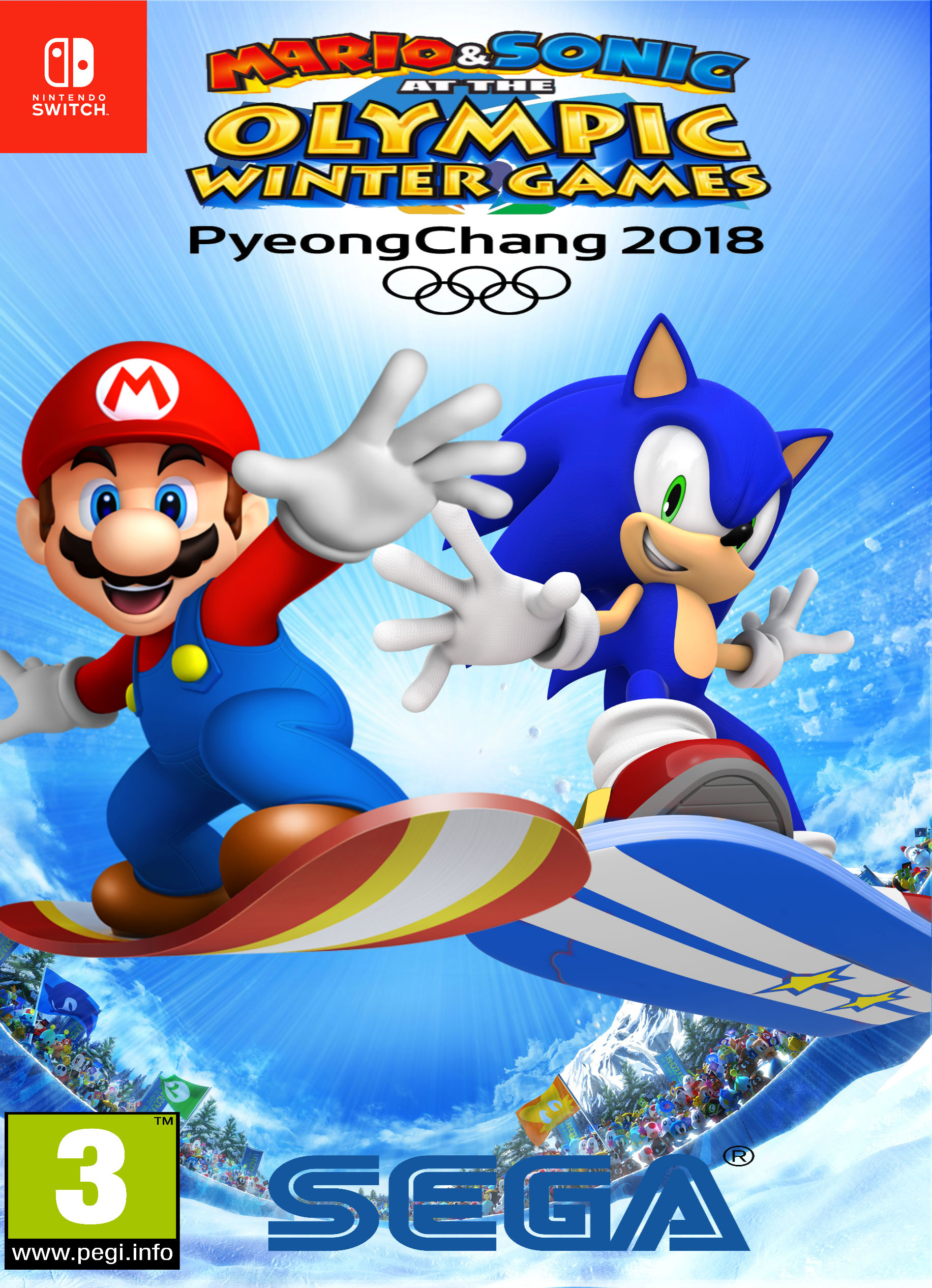 Mario & Sonic at the PyeongChang 2018 Olympic Winter Games ...