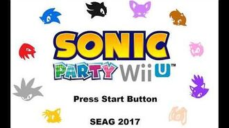 Sonic Party Wii U Voice Reel Demo