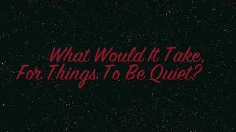 Louder Than Thunder (Quiet Like The Snow) Lyrics- The Devil Wears Prada