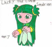 Lucky the Clover Seedrian