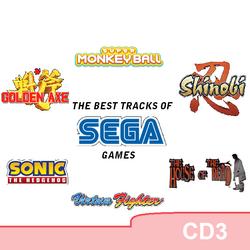 2019 - The Best Tracks of SEGA Games CD3
