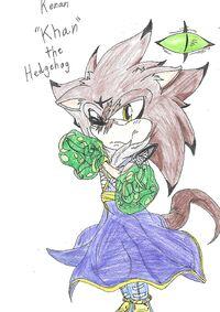 Kenan the Hedgehog color