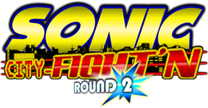 SONIC City Fight'N Round 2 logo 2