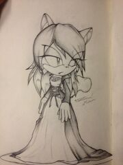 Taura the Squirrel Sketch by Starz