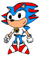Young Eric the Hedgehog by Needlemouse