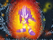 Dark Spine Sonic by Metal Overlord-1-