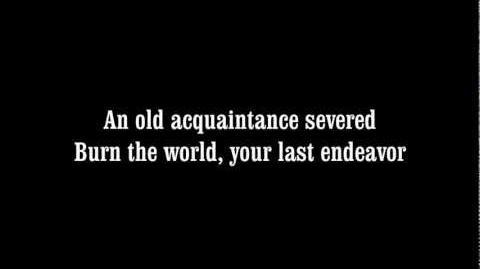 Avenged Sevenfold - Nightmare - Lyrics