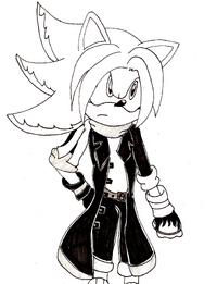 Burn the Hedgehog (Uncolored)