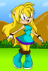Selenia the Hedgehog
