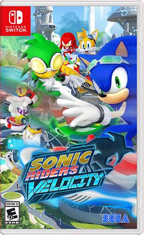 Sonic Riders Velocity Switch Boxart
