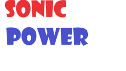 Sonic Power Title