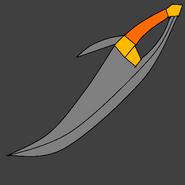 Raphius's sword