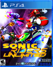 Sonic Riders Unlimited PS4 Cover