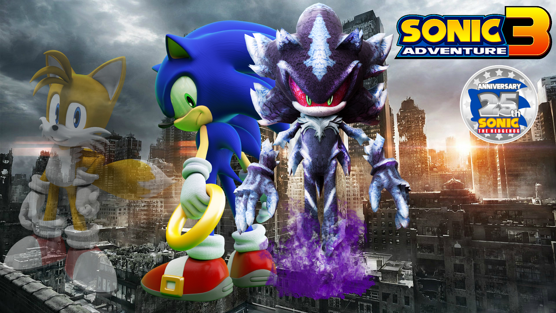 Sonic Adventure 3:The End of the World/Sonic Story | Sonic Fanon