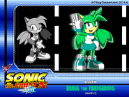 Irma the Hedgehog -Fighter Card -10-