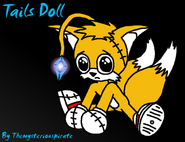 Sad Cute Tails Doll