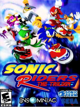 Sonic Riders Trilogy Cover