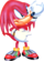 Knuckles the Echidna/Mobius Redrawn